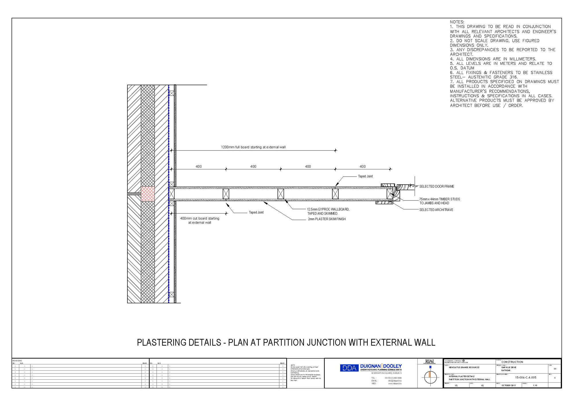 A2 Rated Rathgar Scheme Goes High End But Low Energy Wall Schematic Engineering Diagram Image Gallery