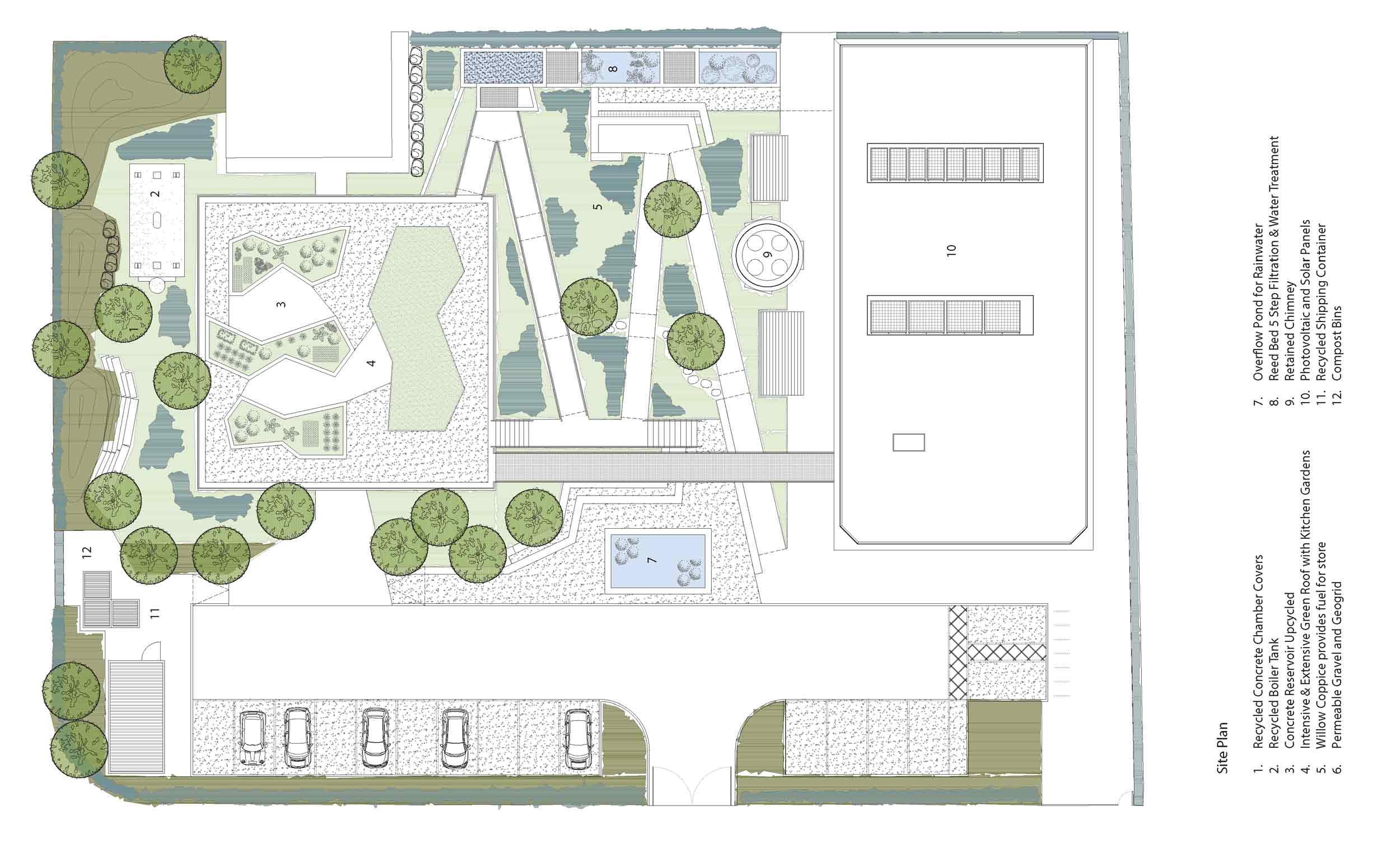 Dublin boiler house reborn as green building exemplar for Home site plan