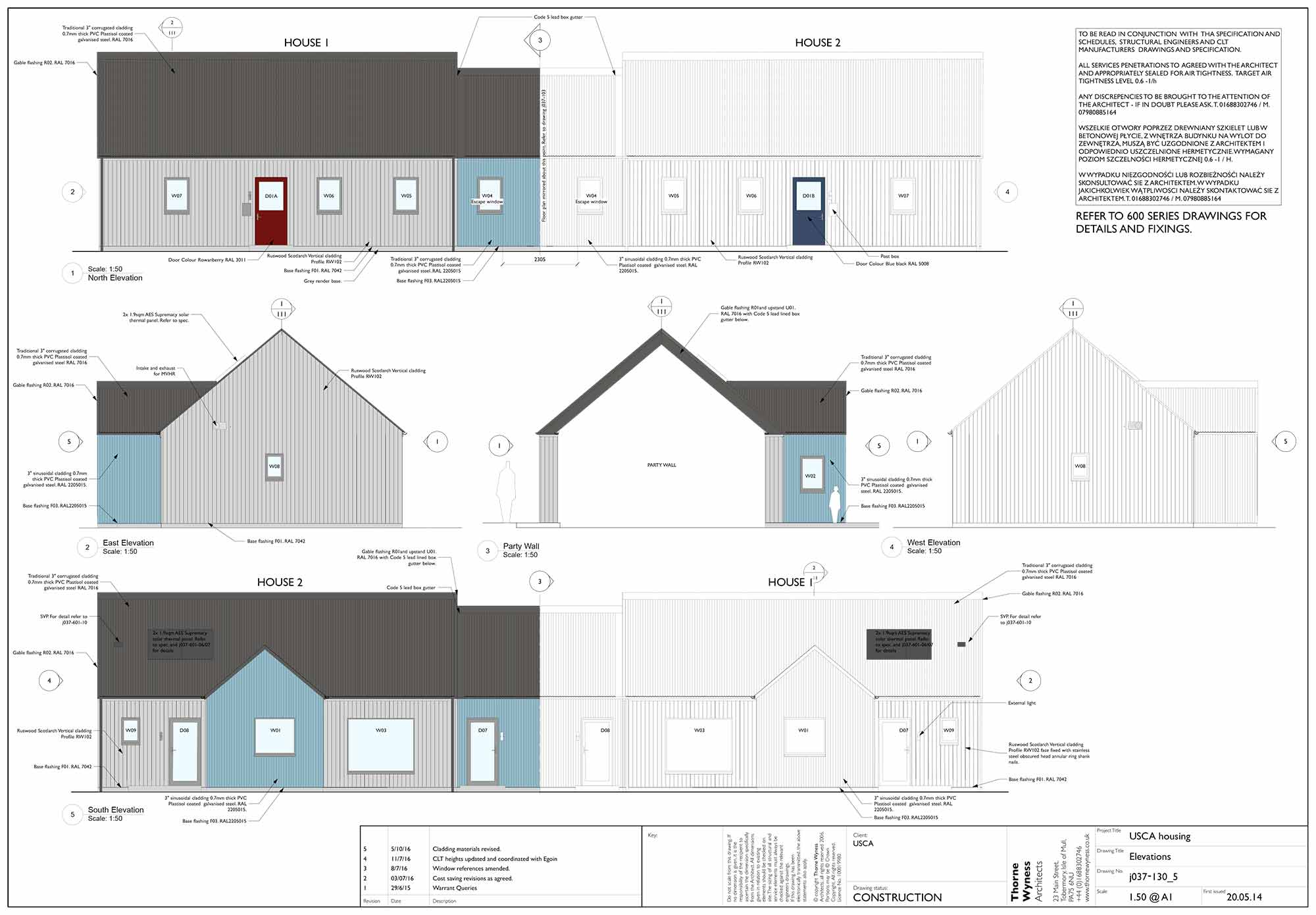 Scottish Isle Eco Cottages Need No Central Heating Home Wiring Green Building Mull 03
