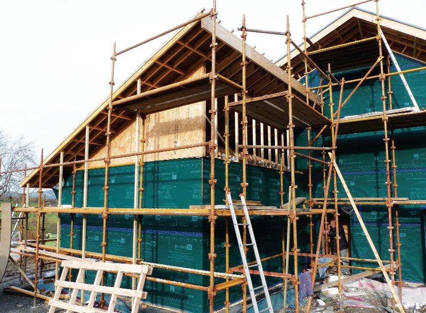 Northwest Facing Home Shows Passive Flexibility