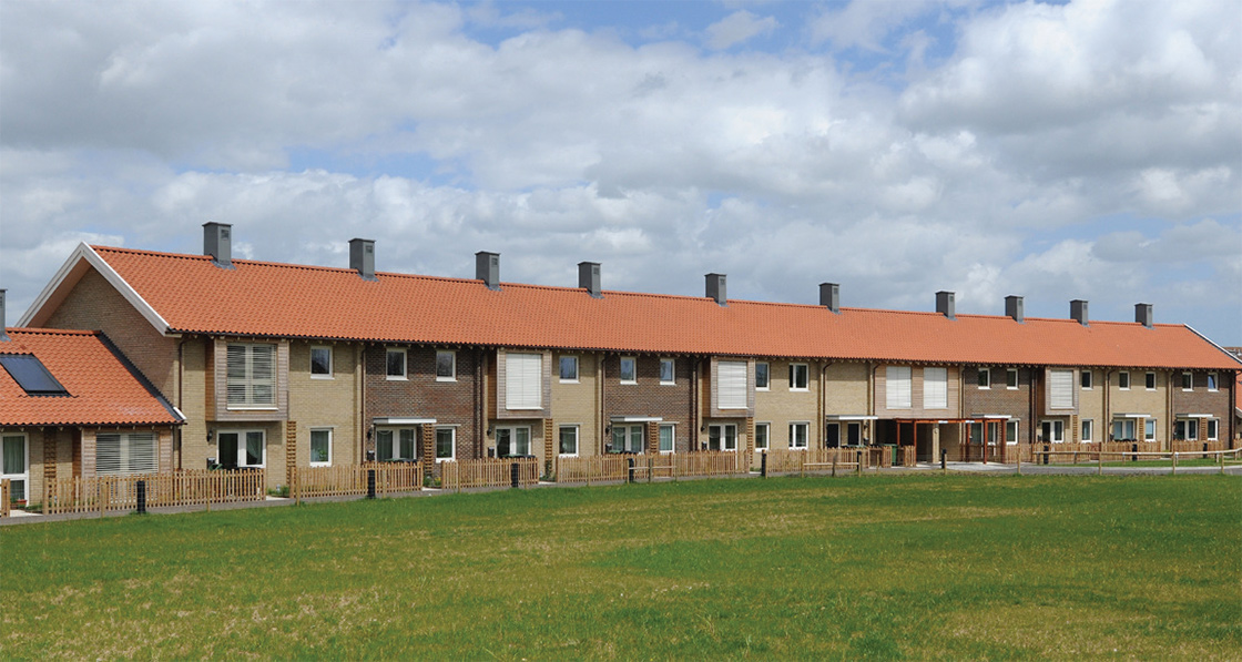 Large scale passive house projects are becoming increasingly common in the UK such as Octavia's Sulgrave Gardens mixed tenure scheme and Hastoe's Ditchingham affordable housing scheme