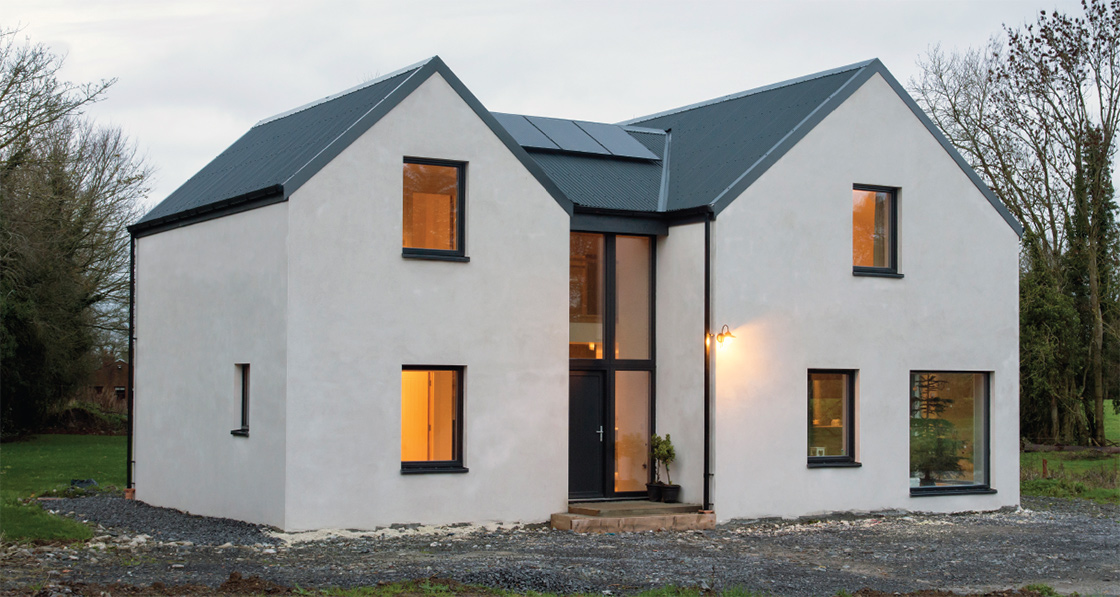 Farmhouse inspired home goes passive on a shoestring 01