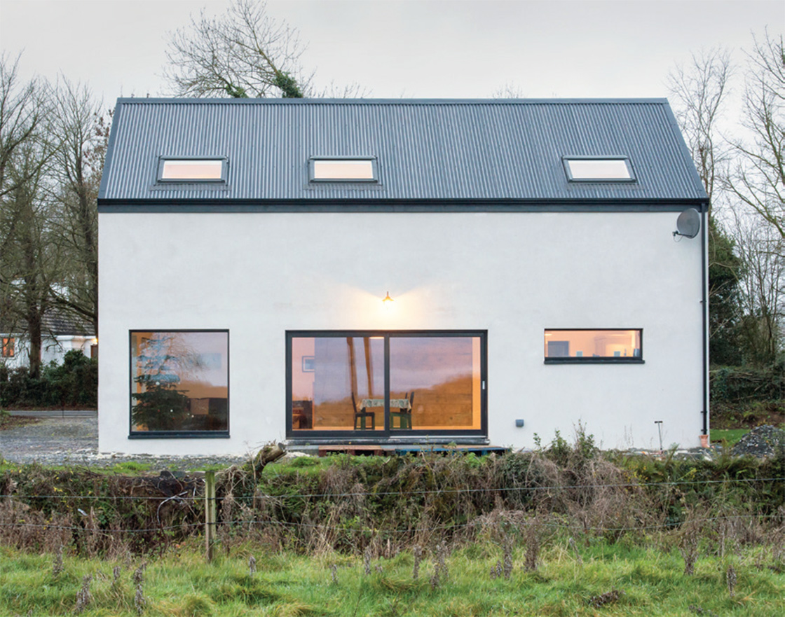 Farmhouse inspired home goes passive on a shoestring 03
