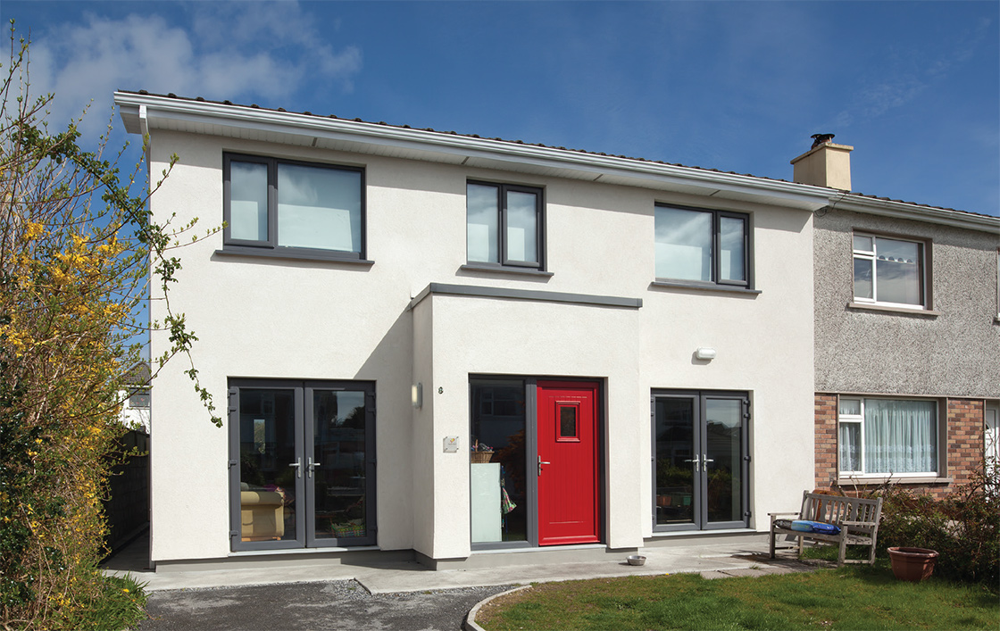 A Simon McGuinness-designed retrofit in Salthill, Co. Galway that achieved full passive house certification, working with a local builder with no background in aiming for such high levels of airtightness
