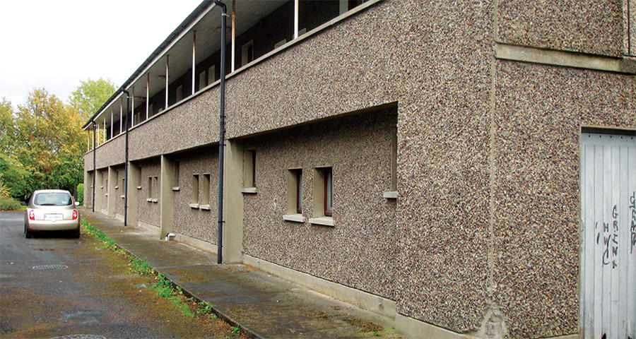 Fabric first retrofit rejuvenates Dubin social housing 01