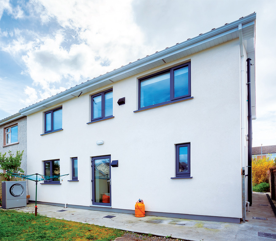 Irelands 1st fully passive retrofit 01