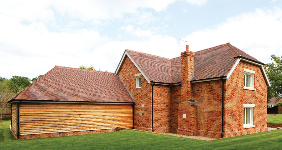 Red brick Surrey home 08