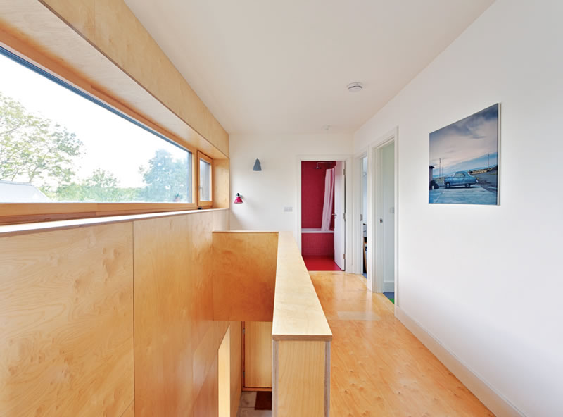 Longford self build goes certified passive on a budget for What goes into building a house