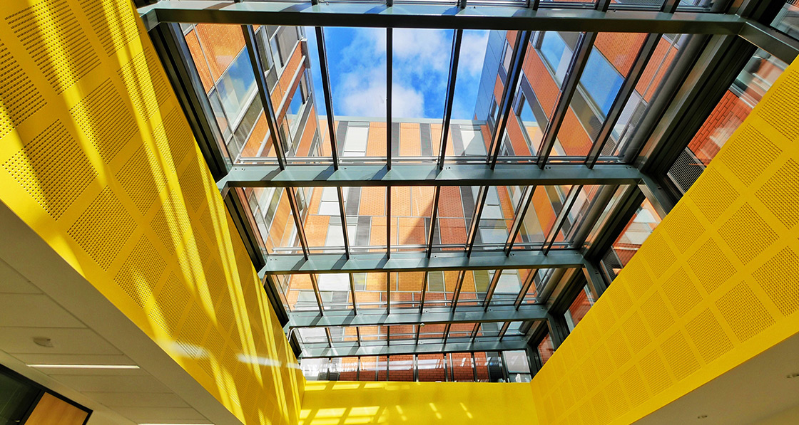 The Passive House Institute certified PR60energysave triple-glazed glass roof, as supplied by DVS Ltd