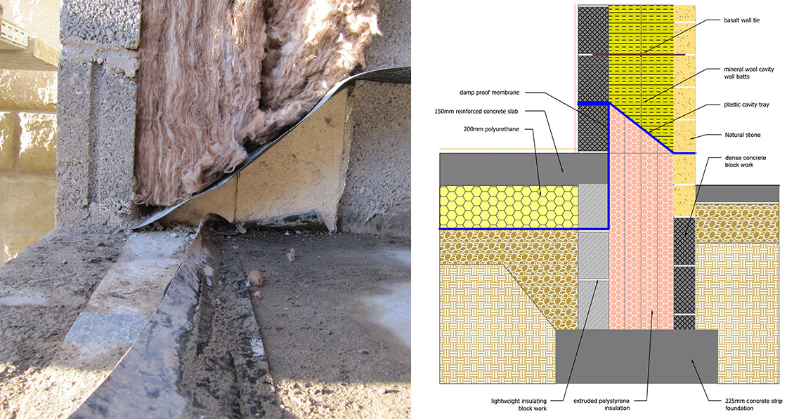 Yorkshire passive house pushes cavity wall boundaries Insulated block construction