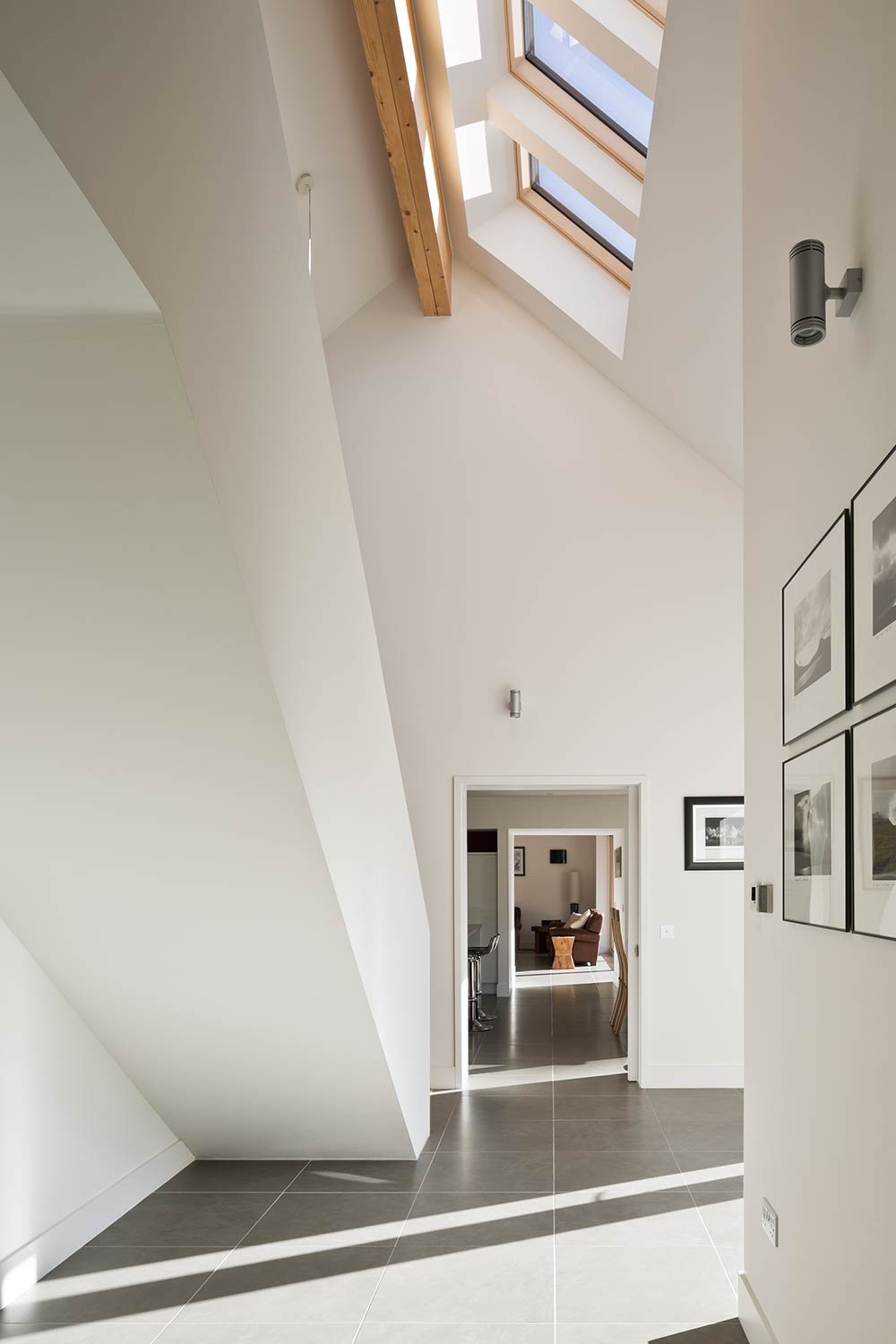 Simple And Stunning Highlands Passive House Merges Old New Project Was About The Building A 2 Room With Parallel Circuit