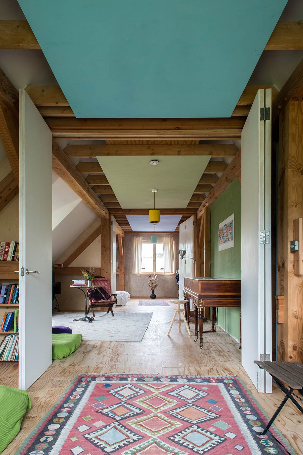 Pleasing Norfolk Straw Bale Cottage Aims For Passive Interior Design Ideas Tzicisoteloinfo