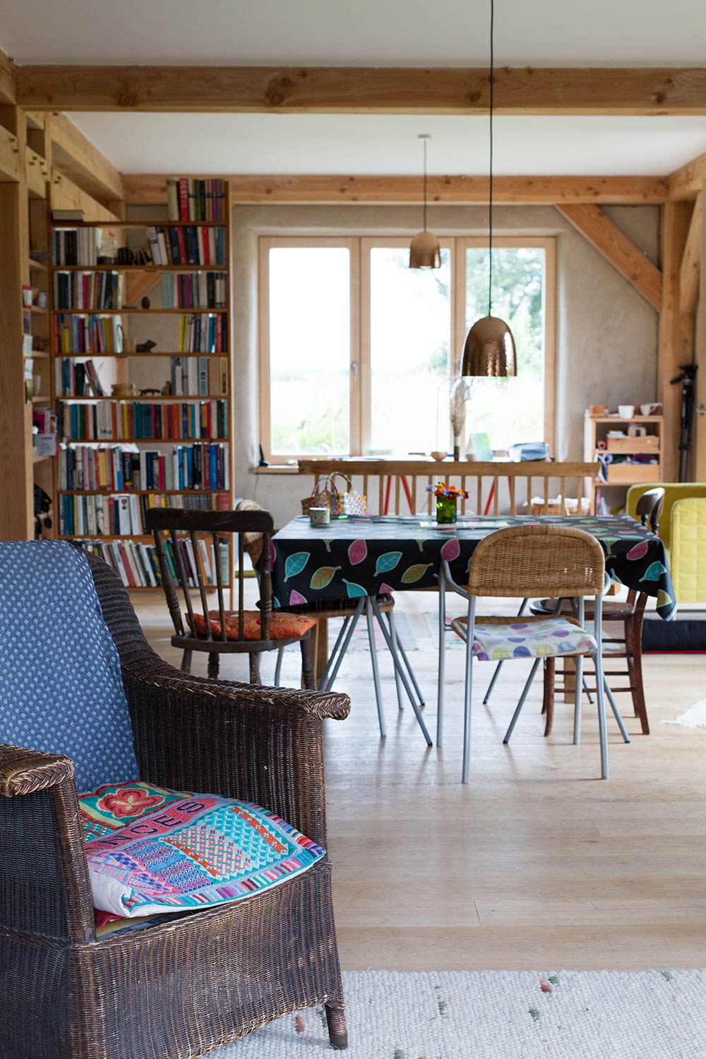 Excellent Norfolk Straw Bale Cottage Aims For Passive Interior Design Ideas Tzicisoteloinfo