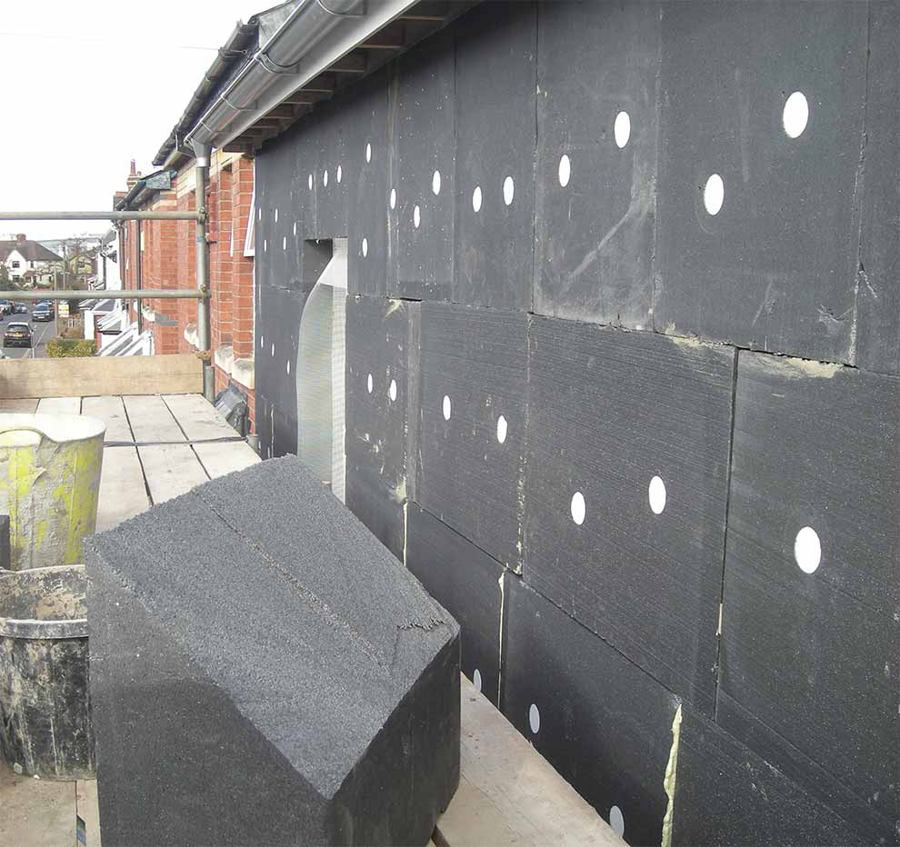 Wall insulation outside: instructions, prices 11