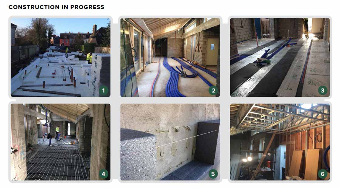 1 The Ground Floor Features A Raft Foundation Consisting Of 300mm Kore  EPS300 Insulation And Radon Barrier; 2 Primary Space Heating And  Ventilation Is ...