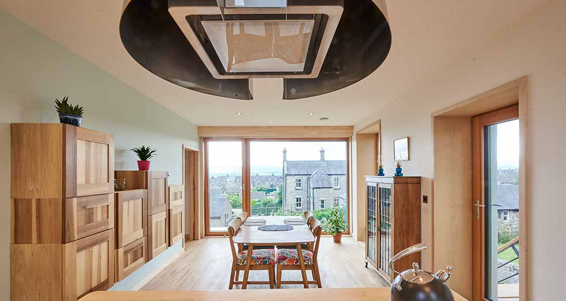 Leyburn timber and straw passive house