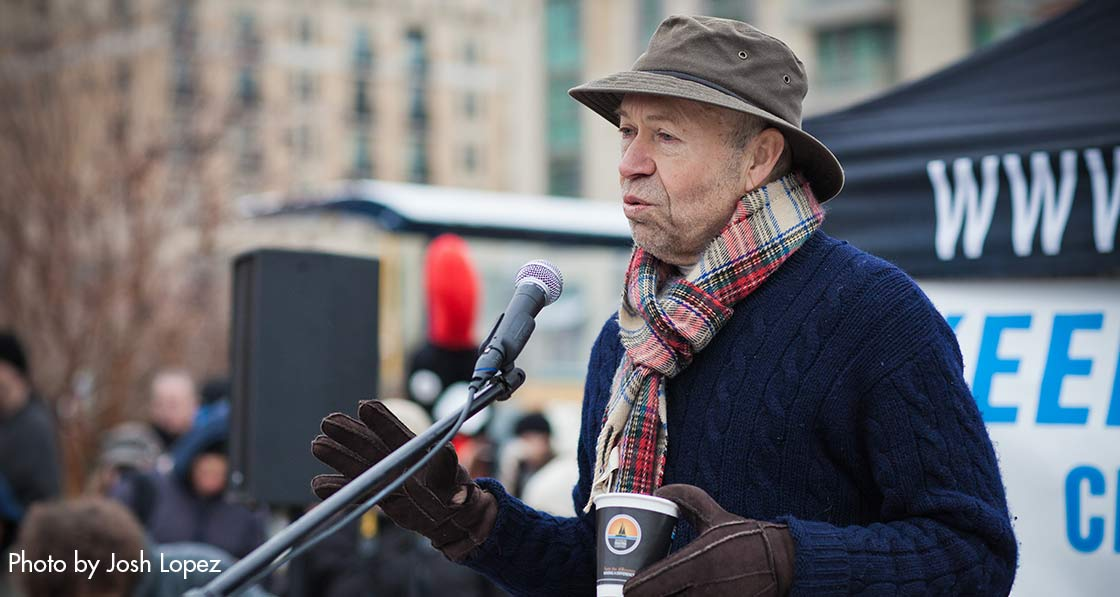 James Hansen, former chief scientist at Nasa and one of the world's most renowned climate experts