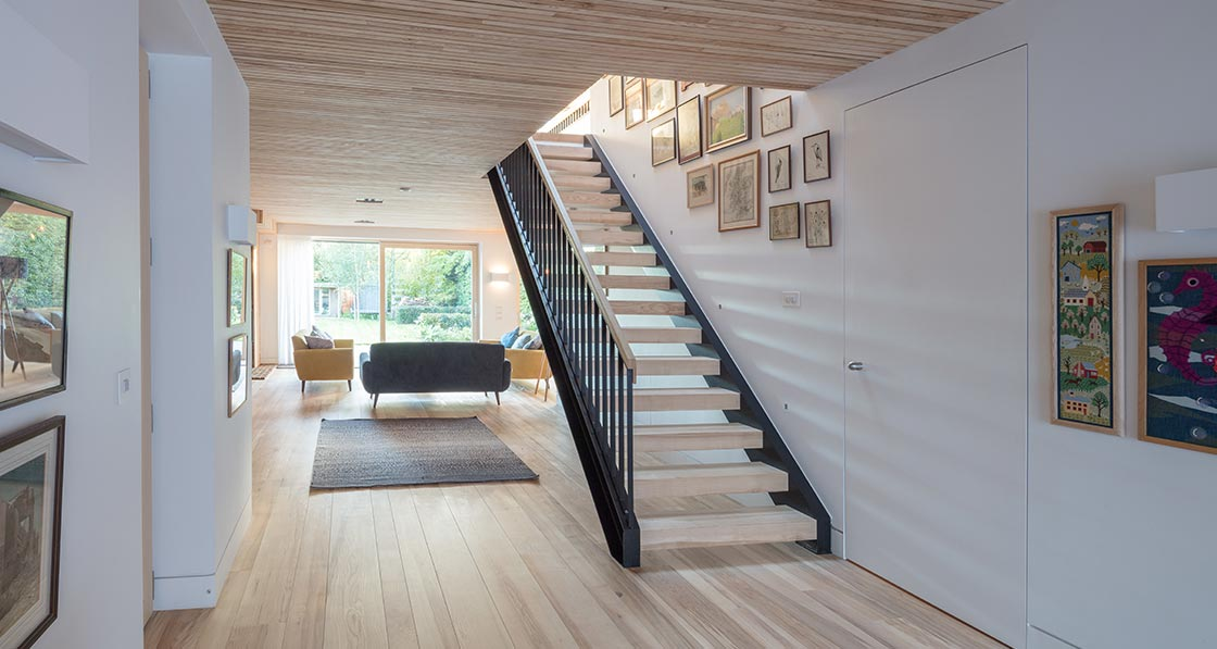 Wood works passive house 05