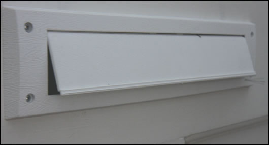 Draft excluders were fitted to all external doors, windows and the letterbox resulting in a notable reduction of heat loss