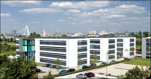 "On the continent the passive house approach ha taken off to such an extent that even large commercial buildings are being built to its specifications, such as ""lu-teco"" a 10,000 sq m office building with 10.000 situated in the technology mile of Ludwigshafen and the SurTec building in Zwingenberg"