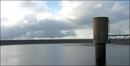 Turlough Hill, the ESB's only pumped storage hydro-electric station, situated in County Wicklow
