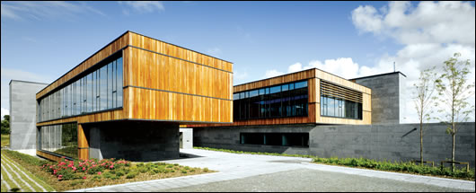 The Dept. of Agriculture's new district veterinary office in Drumshanbo, Leitrim