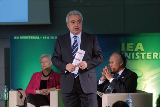 Fatih Birol, the chief economist at the International Energy Agency and editor of the World Energy Outlook
