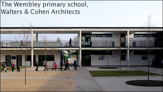 The Wembley primary school, Walters and Cohen Architects