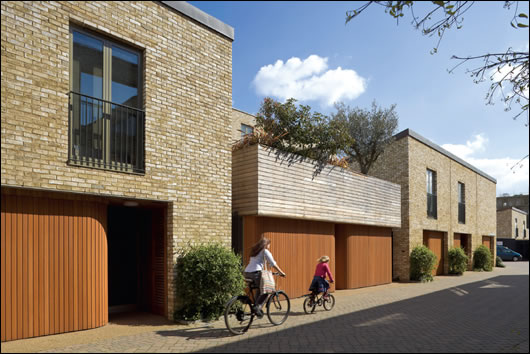 FCB appointed Alison Brooks Architects and MacCreanor Lavington Architects to design 10 and 25% of the housing respectively to bring variety