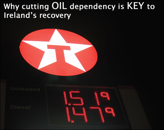 Cutting oil dependency