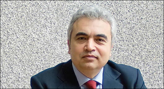 "Fatih Birol, chief economist of the IEA, said in 2008 that ""conventional oil supplies are peaking and time is not on our side"""