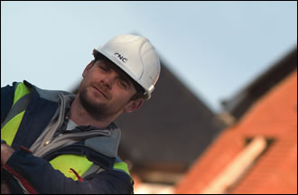 Site manager Martin Kelly