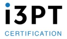 i3PT Certification