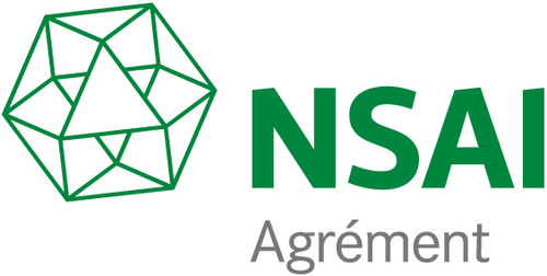NSAI certified airtightness tester