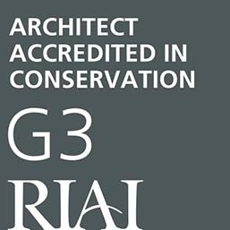 RIAI accredited conservation architect - grade 3