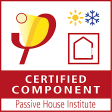 Certified passive house components