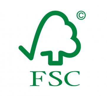 Forest Stewardship Council chain of custody certified