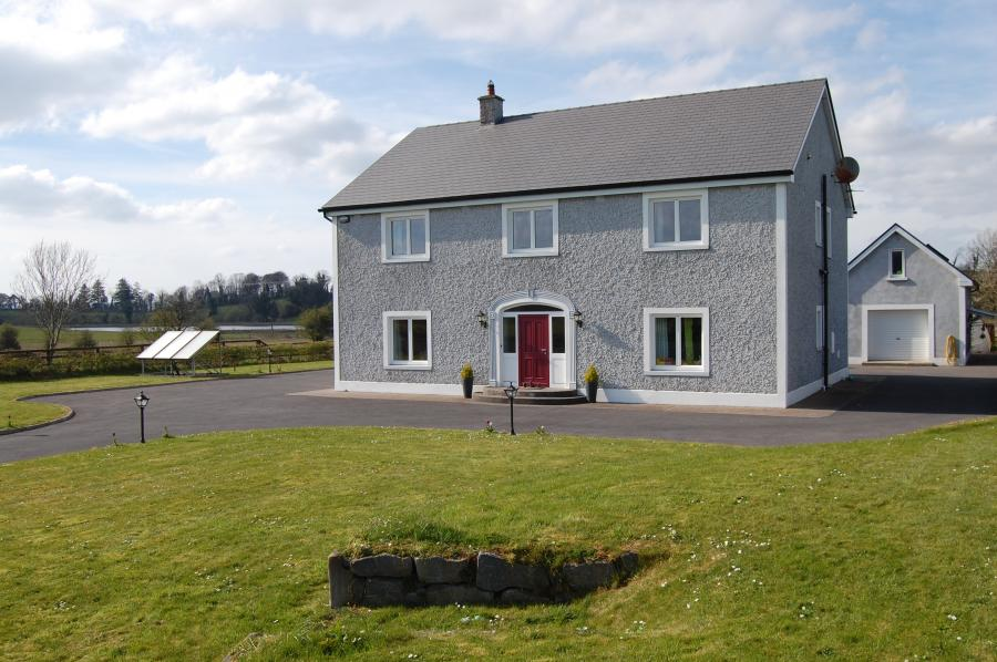 Low energy family home in Galway