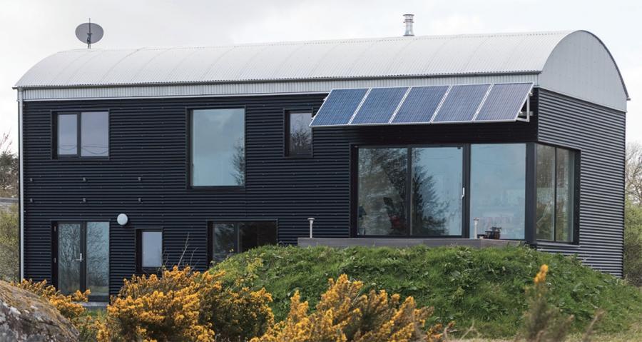 Passive 'Barn' House in Connemara