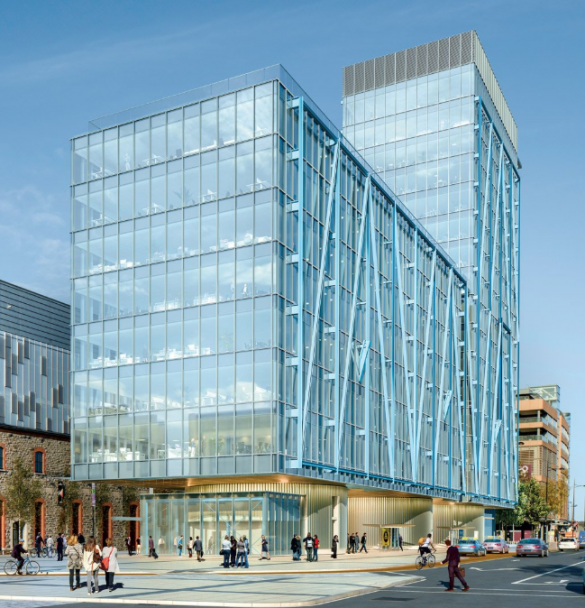 The EXO building, Dublin