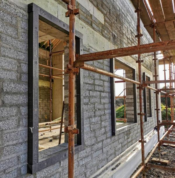 Triotherm+ Thermal Brackets for fitting windows and doors in line with external wall insulation