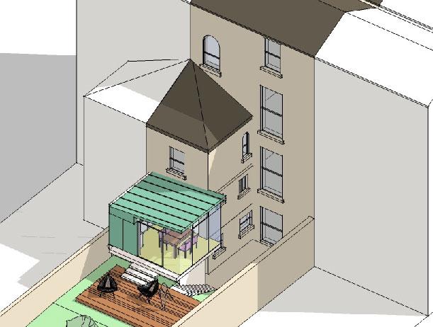 Low-energy Georgian dwelling, Dun Laoghaire