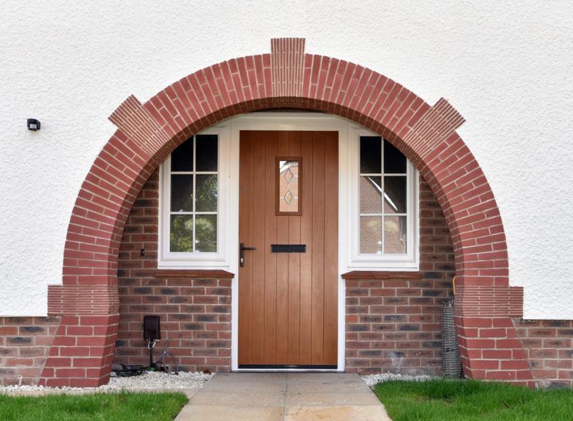 Highgrove House Type - Brick Slip Arch Lintels