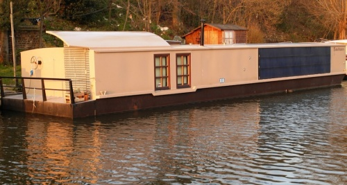 The Bauhaus Barge: an energy efficient canal boat