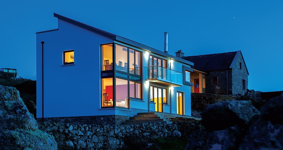 Coastal house goes low energy against the odds