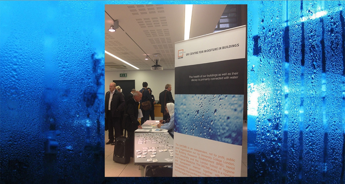 UK Centre for Moisture in Buildings launched at UCL