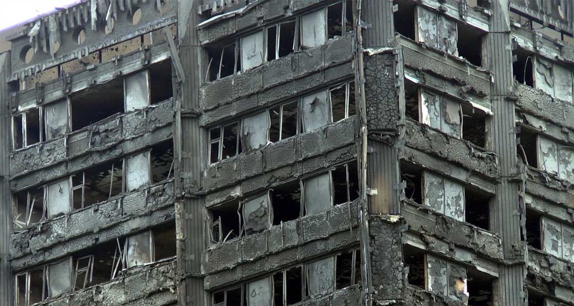 "Chair of post-Grenfell fire review ""shocked"" by construction culture"