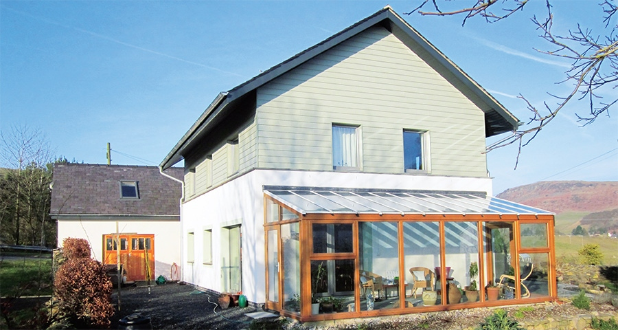 Ecological Lake District passive house generates its own electricity