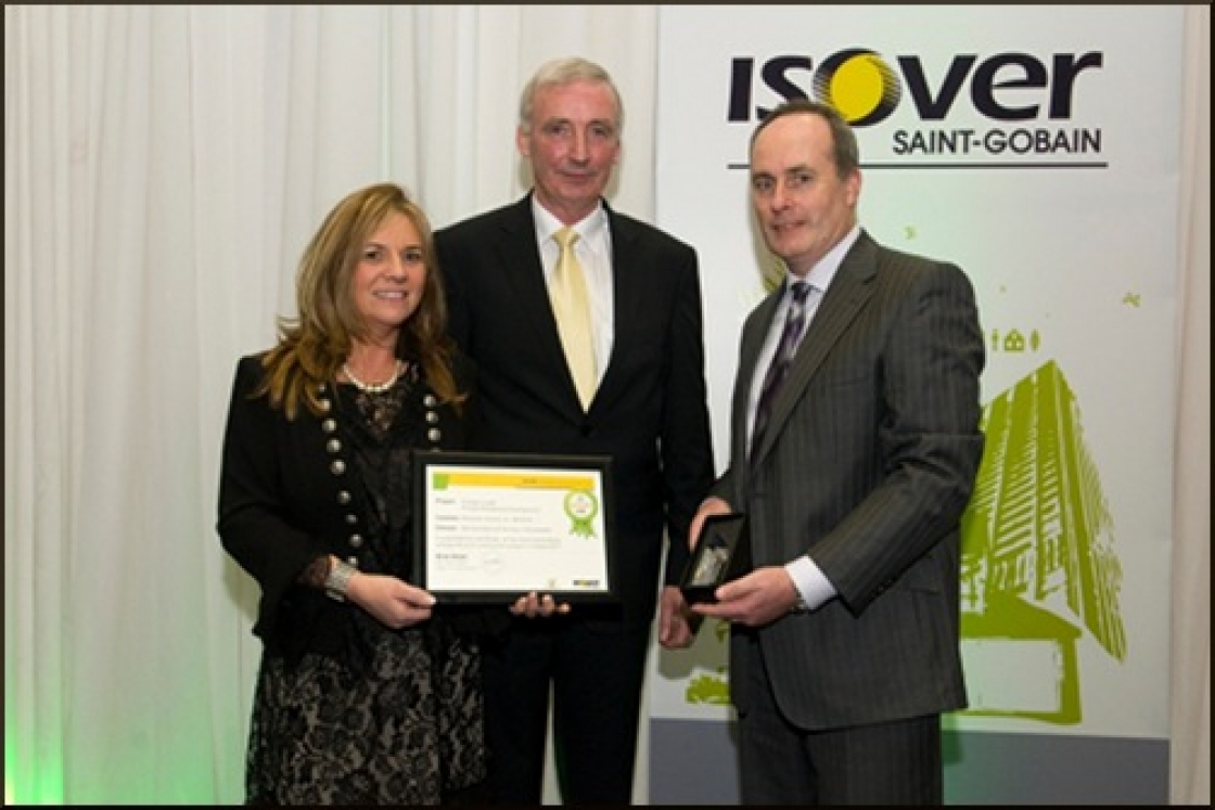 Passive house scheme wins Isover Energy Efficiency Award