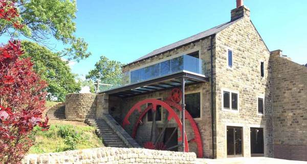 Landmark West Yorkshire mill rebuilt with Nudura ICF